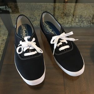 Black Keds Sneakers Size 8.5